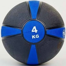 Медбол FitGo (резина 4 кг), art: FI-5122-4