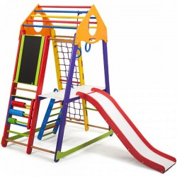 Игровой детский уголок PLAYBABY BambinoWood Color Plus 3, код: SB-IG05