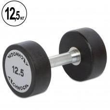 Гантель цельная профессиональная TechnoGym1х12,5 кг, код: TG-1834-12_5