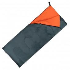 Спальний мішок (спальник) ковдра SportVida +2 ...+ 21°C R Navy Green/Orange, код: SV-CC0061