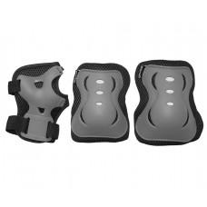Комплект защитный SportVida Size L Grey/Black, код: SV-KY0007-L
