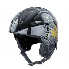 Шлем горнолыжный с механизмом регулировки Moon S/53-55 см, код: MS-2947-S-S52