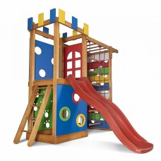 Дитячий ігровий комплекс для будинку PLAYBABY Babyland 2300х750х2100 мм, код: Babyland-16