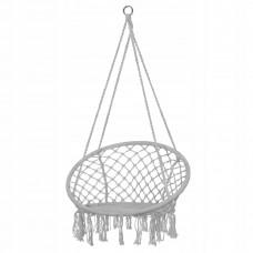 Підвісне крісло-гойдалка (плетене) Springos Grey, код: SPR0011