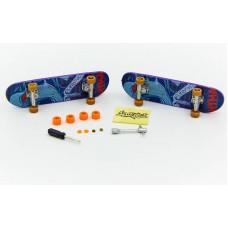 Фингерборд-мини скейт PLAYBABY 2 шт, код: SK-12011