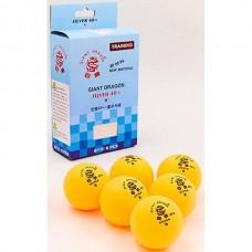 Мячи для настольного тенниса Giant Dragon 6 шт, код: MT-6562-OR