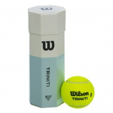 М'яч для великого тенісу Wilson Triniti 3 шт/Обозреватель обов'язкова WRT125200-S52