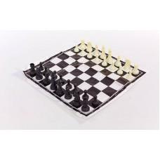 Шахматные фигуры пластиковые с полотном для игр ChessTour, код: IG-3103-PLAST-SH-S52