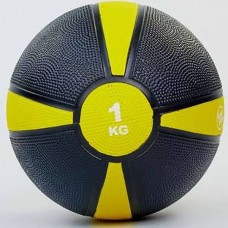 Медбол FitGo (резина 1 кг), art: FI-5122-1