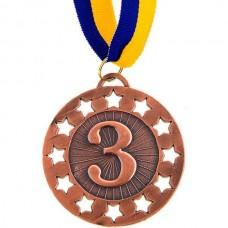 Медаль наградная PlayGame 65 мм, код: 349-3