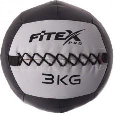 Набивний м'яч волбол Fitex 3 кг, код: MD1242-3