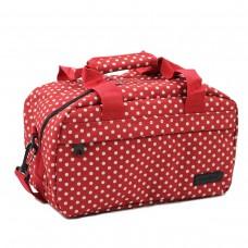 Сумка дорожня Members Essential On-Board Travel Bag Red Polka 12,5 л, код: 927843