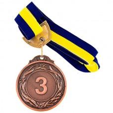 Медаль наградная PlayGame 60 мм, код: 351-3