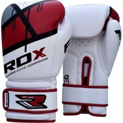 Перчатки для бокса RDX Rex Leather Red, код: RX-10128