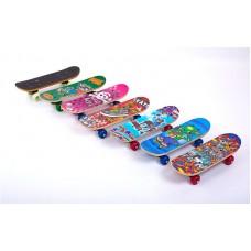 Скейтборд PLAYBABY Mini 430х130х12 мм, код: SK-4931