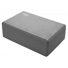 Блок для йоги 4Fizjo Grey, код: 4FJ0141