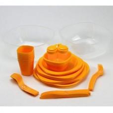 Набор туристической посуды Green Camp, код: GC-139/54Y