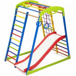 Ігровий дитячий куточок PLAYBABY SportWood Plus 1, код: SB-IG47