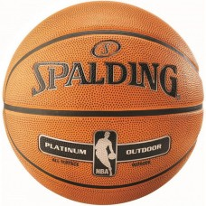 Мяч баскетбольный Spalding NBA Platinum Outdoor s.7, код: NBA-PL-OUT_7