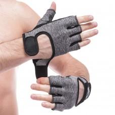 Рукавички для фітнеca FitGo Hard Toch розмір XS-L, код: FG-003