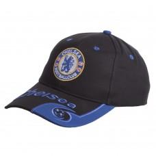 Кепка футбольного клубу Chealsea, чорний-синій, код: CO-0804-S52