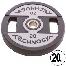 Диски Technogym поліуретанові з хватом 20 кг, код: TG-1837-20-S52