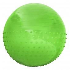 Мяч для фитнеса (фитбол) полумассажный SportVida Anti-Burst Green 55 см , код: SV-HK0291