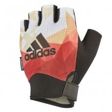 Перчатки для фитнеса Adidas S оранжевый, код: ADGB-13233
