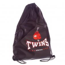 Рюкзак-мішок Twins чорний, код: TW-2242-S52
