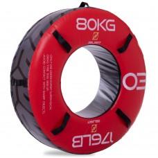 Шина для кроссфіта 80 кг Modern 1220х600х320 мм, червоний, код: FI-2610-80-S52