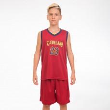 Форма баскетбольна підліткова PlayGame NB-Sport NBA Cleveland 23 M-2XL, код: 4310