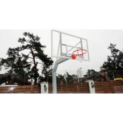 Баскетбольная стойка стационарная PlayGame (с щитом), код: SS00082-LD