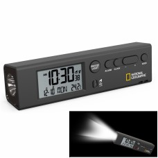 Годинники National Geographic Thermometer Flashlight Black (9060300), код: 928498-SVA