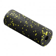 Массажный ролик 4Fizjo Mini Foam Roller Black/Yellow 150x53 мм, код: 4FJ0081
