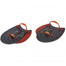 Лопатки для плавання гребні Spdo L (215x200 мм) чорний-червоний, код: PL-7033-L-S52