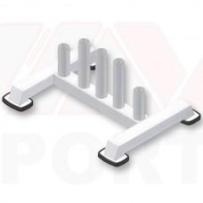 Вертикальная подставка для грифов CrossGym, код: MV1127