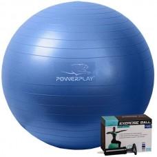 Мяч для фитнеса PowerPlay 650 мм Blue, код: PP_4001_65_Blue