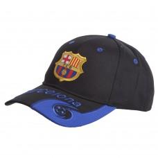 Кепка футбольного клубу Barcelona, чорний-синій), код: CO-0796-S52