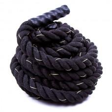 Канат для кроссфита CrossGym Battle Rope 12000х50 мм, код: 82343-250-WS