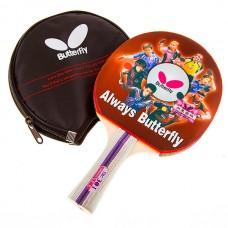 Ракетка для настольного тенниса Butterfly 3*, код: TBC-301