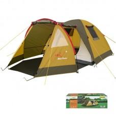 Палатка 3-местная двухслойная Mimir коричневая, код: MM/Х-1504-WS