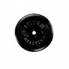 Диск InterAtletika чорний 5 кг, код: ST520.4B