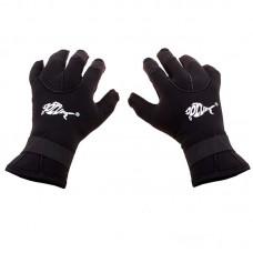 Рукавички для дайвінгу з відкривающимися пальцями Dolvor 3 мм розмір L, код: 6105-1L3