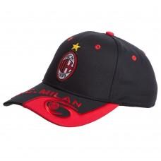 Кепка футбольного клубу AC Milan, чорний-червоний, код: CO-0793-S52