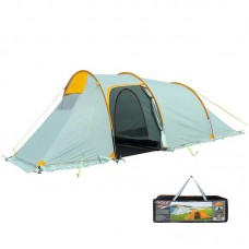 Палатка 3-местная двухслойная Mimir светло-серая, код: MM1017G-WS