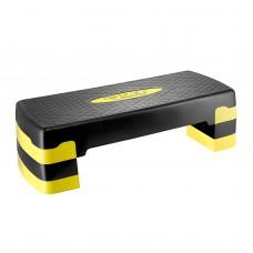 Степ-платформа 3-ступінчаста 4Fizjo Black/Yellow, код: 4FJ0149