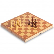 Шахматы настольная игра деревянные на магнитах ChessTour 340x340 мм, код: W6703