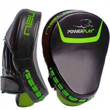 Лапы боксерские PowerPlay Black/Green, код: PP_3041_Green