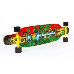 Лонгборд дерев'яний професійний PlayGame Фрірайд 41in, код: SK-415-1