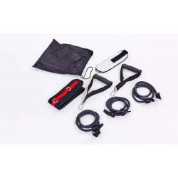 Тренувальний амортизатор з кріпленням на пояс Record Multi-Way Expander, код: FI-6413